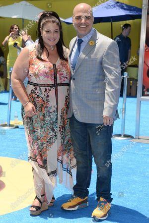 Michelle Raimo and Tony Leondis