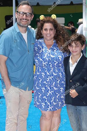 Judah Miller, Marissa Jarret Winokur and Zev Miller