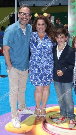 Stock Picture of Judah Miller, Marissa Jarret Winokur and Zev Miller