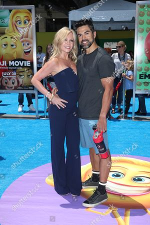 Stock Image of Tamra Judge and husband Eddie Judge