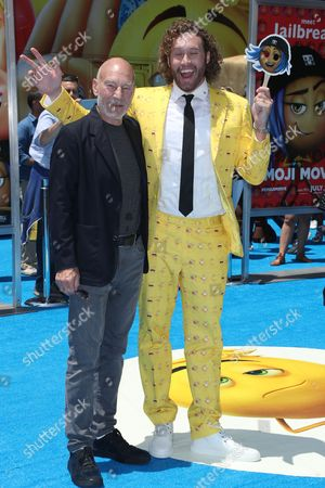 Sir Patrick Stewart and TJ Miller