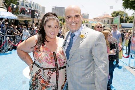 Stock Picture of Michelle Raimo and Tony Leondis