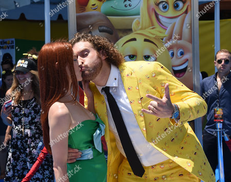 Stock Photo of Kate Gorney and T.J. Miller