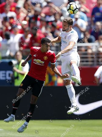 Editorial image of Real Madrid vs Manchester United, Santa Clara, USA - 23 Jul 2017