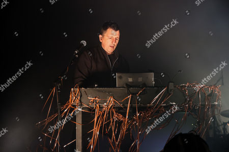 Stock Picture of Atticus Ross - Nine inch Nails, NIN