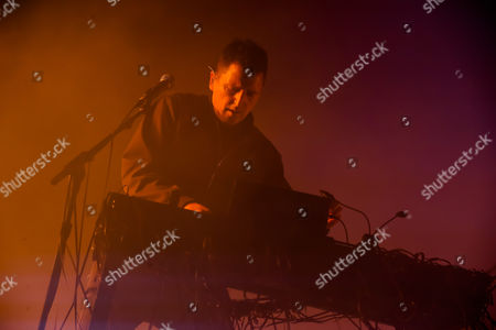 Stock Photo of Atticus Ross - Nine inch Nails, NIN