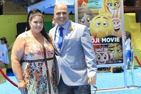 Editorial photo of World Premiere of The Emoji Movie, Los Angeles, USA - 23 Jul 2017