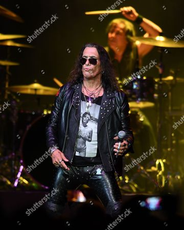 Editorial photo of Ratt in concert at the Seminole Hard Rock Hotel and Casino, Hollywood, USA - 22 Jul 2017