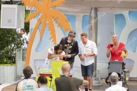 Antonia aus Tirol, Mickie Krause, Jürgen Milski and Andrea Kiwi Kiewel ....
