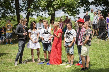 Antonia aus Tirol, Mickie Krause, Jürgen Milski, Tim Toupet, Andrea Kiwi Kiewel, Dragan and Markus Becker  ....
