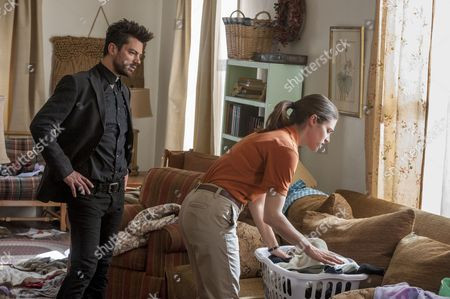Stock Picture of Dominic Cooper, Lucy Griffiths