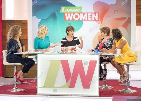 Nadia Sawalha, Stacey Solomon, Deena Payne, Anne Diamond and Saira Khan