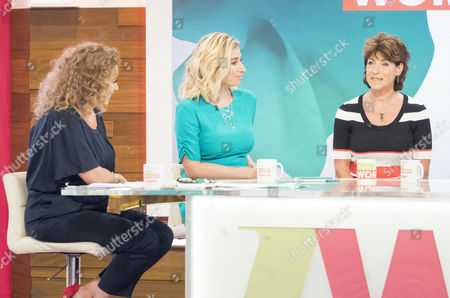 Stock Photo of Nadia Sawalha, Stacey Solomon, Deena Payne