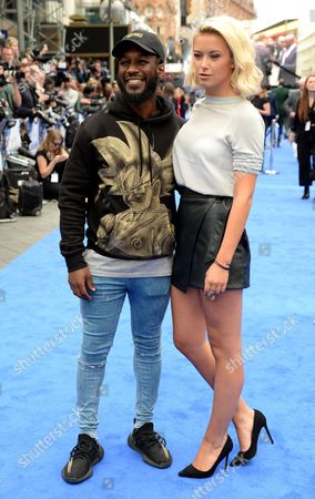 Stock Picture of Akin Solanke-Caulker and Olivia Bentley