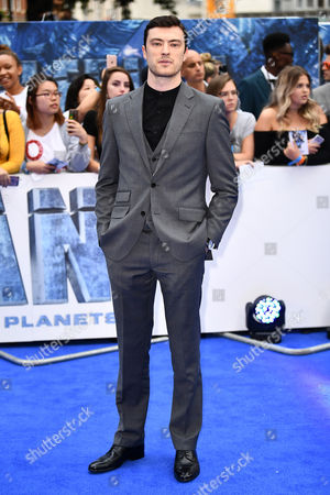 Editorial photo of 'Valerian and the City of a Thousand Planets' film premiere, Arrivals, London, UK - 24 Jul 2017