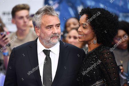 Luc Besson and Virginie Besson-Silla