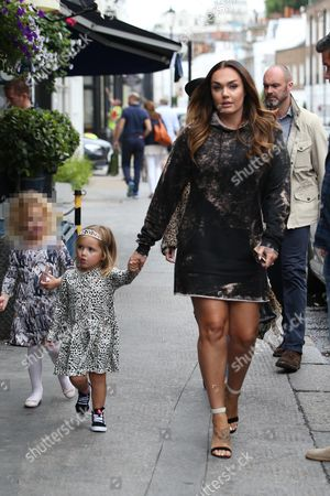 Editorial image of Tamara and Petra Ecclestone out and about, London, UK - 24 Jul 2017