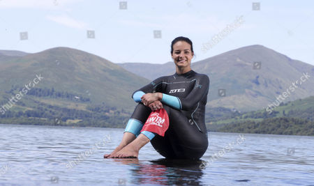 Editorial image of Keri-Anne Payne,  Loch Lomond, Scotland, UK - 24 Jul 2017