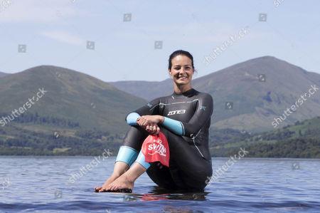 Editorial picture of Keri-Anne Payne,  Loch Lomond, Scotland, UK - 24 Jul 2017