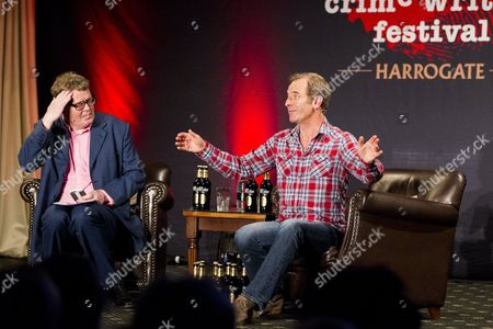 Robson Green with James Runcie