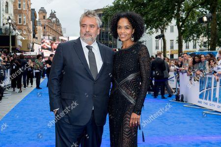 Luc Besson and Virginie Besson