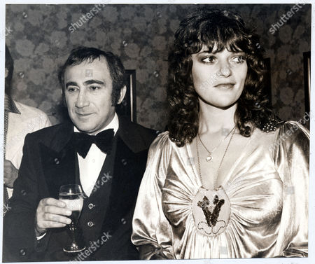 Stock Picture of Lionel Bart and Dana Gillespie