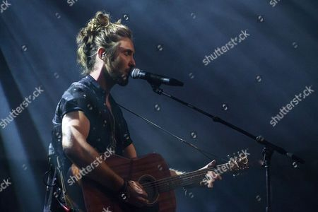 Stock Picture of South African singer-songwriter Jeremy Loops performs during his concert at the Blue Balls Festival in Lucerne, Switzerland, 24 July 2017. The music event runs from 21 to 29 July.