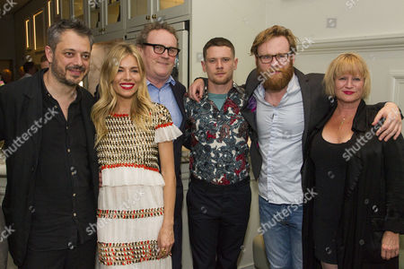 Benedict Andrews (Director), Sienna Miller (Maggie), Colm Meaney (Big Daddy), Jack O'Connell (Brick), Brian Gleeson (Gooper) and Lisa Palfrey (Big Mama)