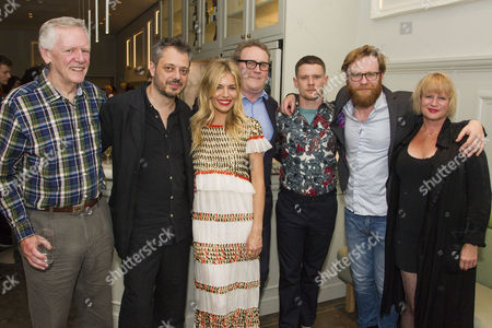 Michael J Shannon (Reverend), Benedict Andrews (Director), Sienna Miller (Maggie), Colm Meaney (Big Daddy), Jack O'Connell (Brick), Brian Gleeson (Gooper) and Lisa Palfrey (Big Mama)