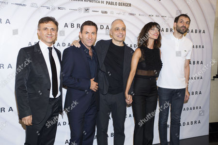 Jose Mota, Antonio de la Torre, Pablo Berger, Maribel Verdu and Julian Villagran