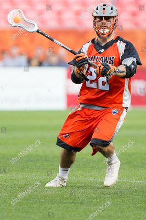 Denver Outlaws Tom Kelly (22) during an MLL matchup between the Ohio Machines and the Denver Outlaws at Sports Authority Field at Mile High Stadium Denver CO, Machines 13, Outlaws 12 Scott D Stivason/Cal Sport Media