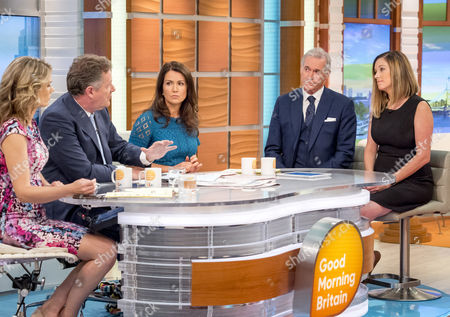 Editorial photo of 'Good Morning Britain' TV show, London, UK - 25 Jul 2017
