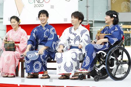 Homare Sawa, Maharu Yoshimura, Takuro Yamada, Aki Taguchi