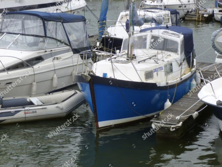 One of the boats owned Cyrenians boss Robert Mark Davies