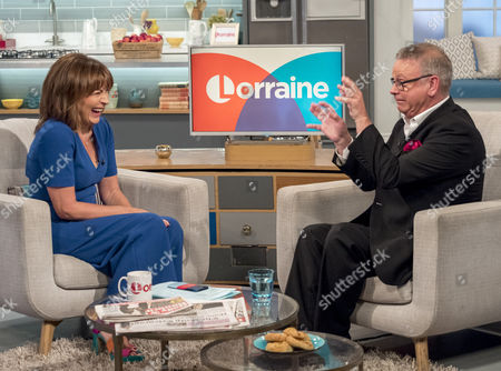 Lorraine Kelly and Norman Pace