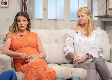 Danielle Lloyd and mum Jackie Lloyd