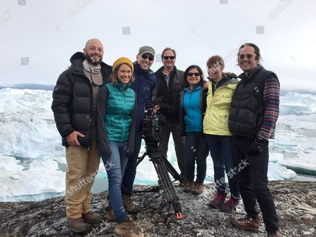 Stock Image of Patrick Kollman, Sara Dosa, Jon Shenk, Richard Berge, Bonni Cohen, Diane Weyermann, Gabriel Monts