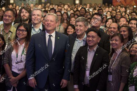 Al Gore, Hal Connolly, Ken Berlin, Rodne Galicha