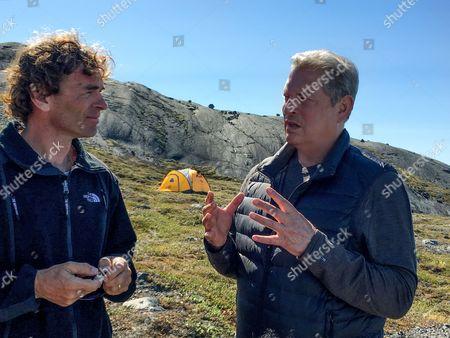 Dr Eric Rignot, Al Gore