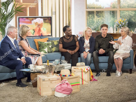 Editorial picture of 'This Morning' TV show, London, UK - 25 Jul 2017