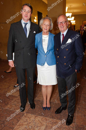 Viktor Prince of Isenburg, mother Christine Princess of Isenburg and Countess of Saurma, Karl Friedrich Prince of Hohenzollern