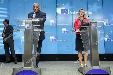 Sameh Hassan Shoukry, Federica Mogherini,