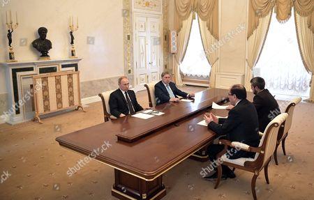 Editorial image of Vice President of Iraq Nouri al-Maliki visits Russia, St.Petersburg, Russian Federation - 25 Jul 2017