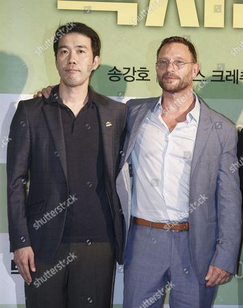 Thomas Kretschmann and Jang Hoon