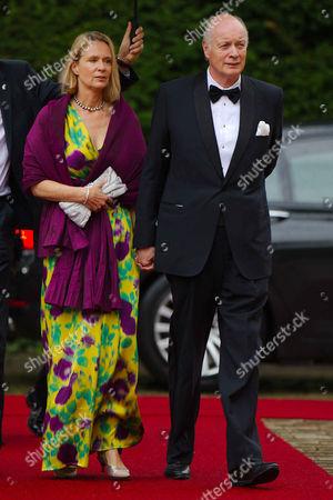 Princess Desiree of Hohenzollern, husband Eckbert of Bohlen and Halbach