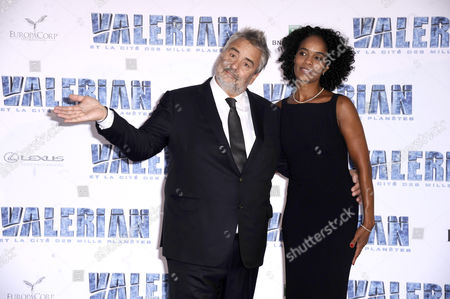 Editorial photo of 'Valerian And The City Of A Thousand Planets' film premiere, Paris, France - 25 Jul 2017