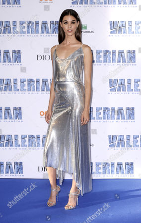 Editorial image of 'Valerian And The City Of A Thousand Planets' film premiere, Paris, France - 25 Jul 2017