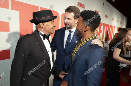 Larry Reed, Mark Boal, Writer/Producer, and Algee Smith
