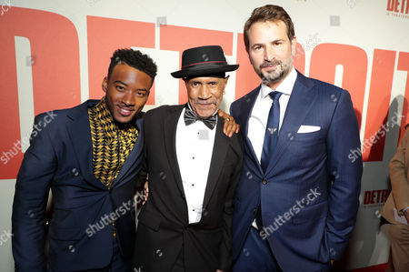 Algee Smith, Larry Reed and Mark Boal, Writer/Producer