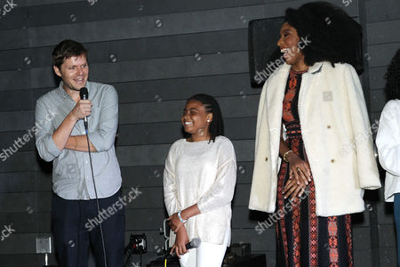 Stock Photo of Jim Sprouse (Writer/Director), Taliyah Whitaker, Jessica Williams